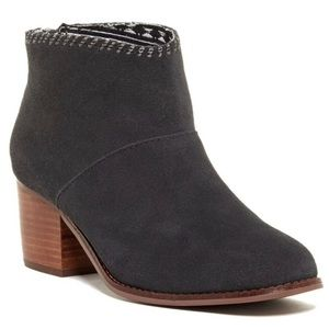 TOMS grey Leila boots size 6.5